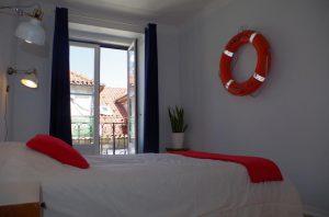 Habitación del Goodnight Lisbon Hostel