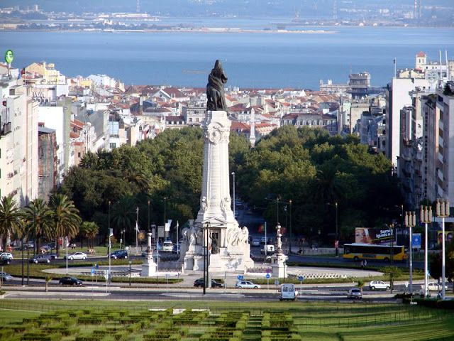 Región Marquês do Pombal en Lisboa