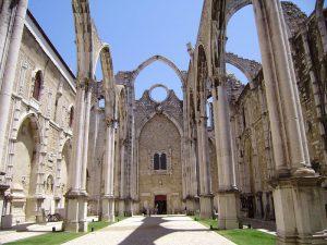 Convento do Carmo en Lisboa
