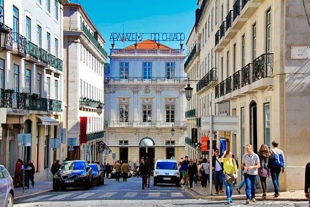 Shopping Armazéns do Chiado en Lisboa