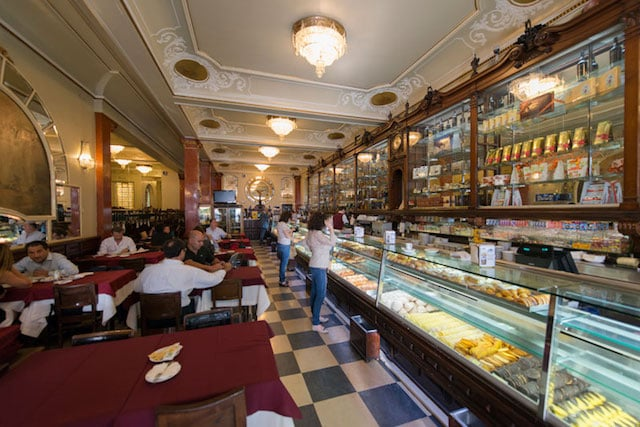 Café Versailles en Lisboa