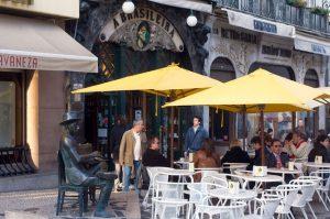 Restaurante - Café A Brasileira en Lisboa
