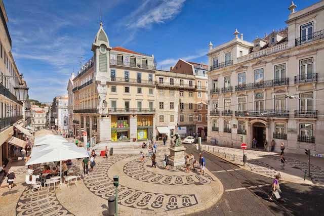 Baixa y Chiado en Lisboa