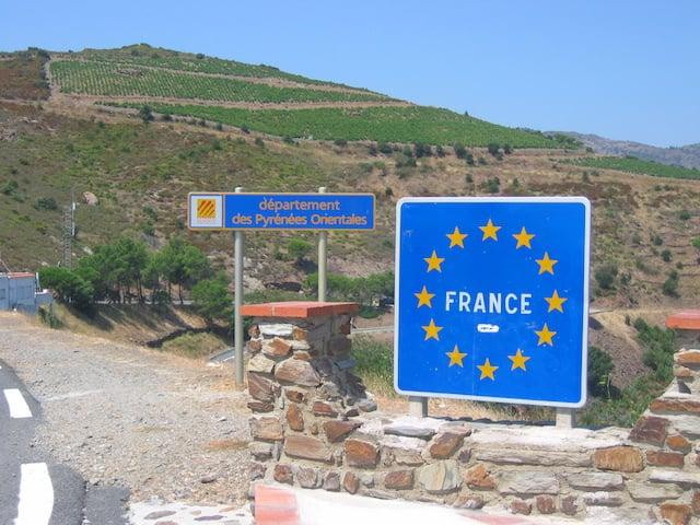 Frontera de Francia