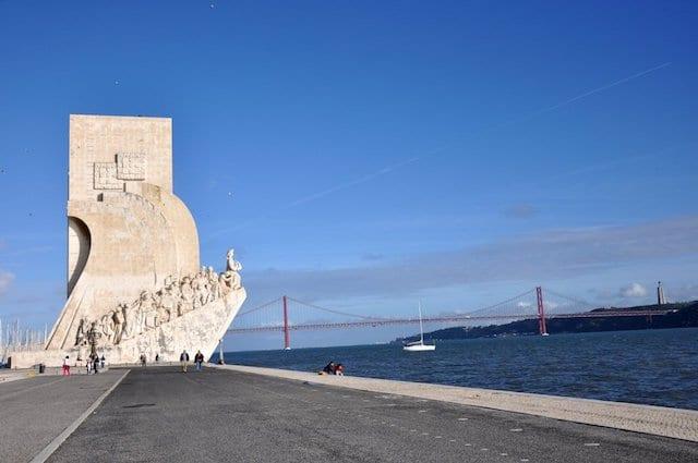 Padrão dos Descobrimentos (Monumento a los Descubrimientos) en Belém
