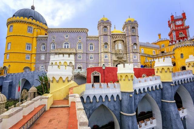 Ir y volver a Sintra desde Lisboa