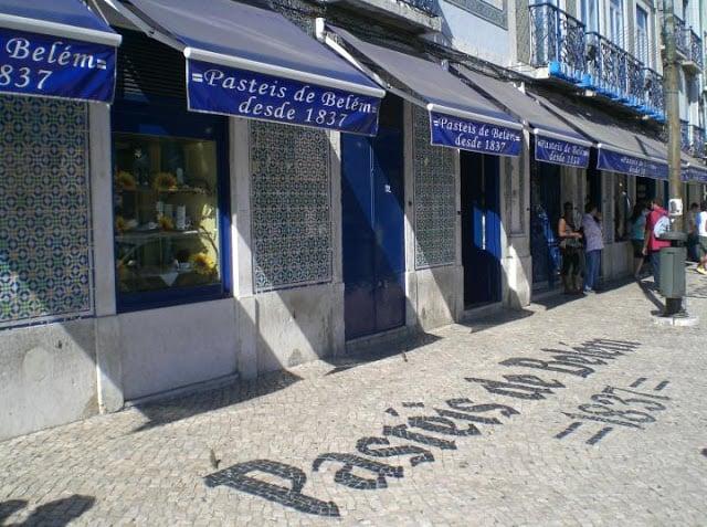 Dónde comer pasteles de Belém en Lisboa