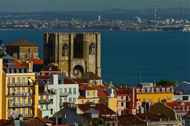Sé de Lisboa en Portugal