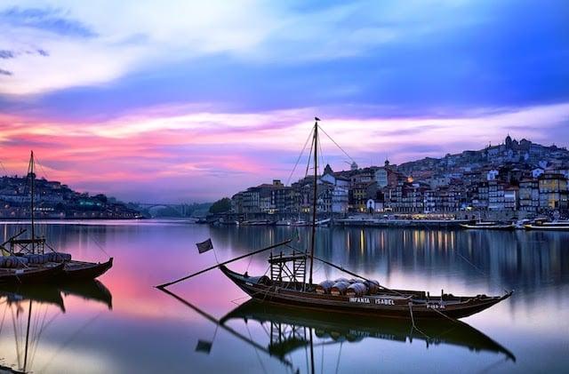 Puntos turísticos en Oporto