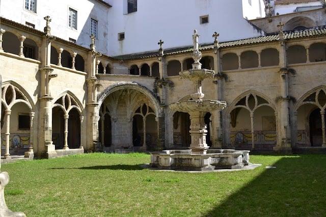 Monasterio de Santa Cruz en Coimbra