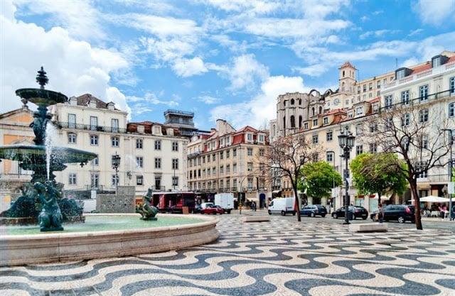 Jardines del Palacio de Cristal en Oporto