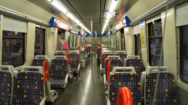 Tren hasta Sintra