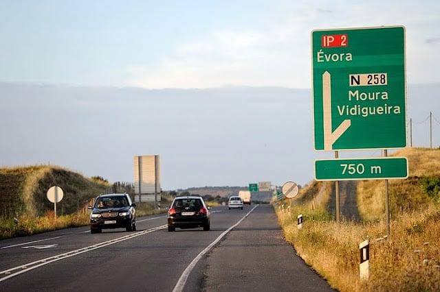 Carreteras en Portugal