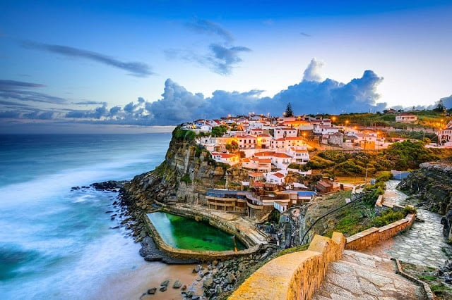 Azenhas do Mar en Portugal