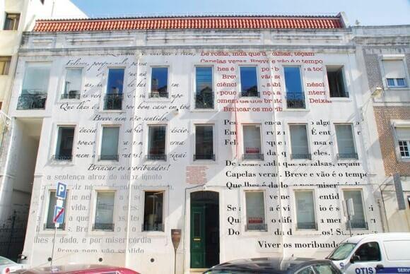 Casa Fernando Pessoa en Lisboa