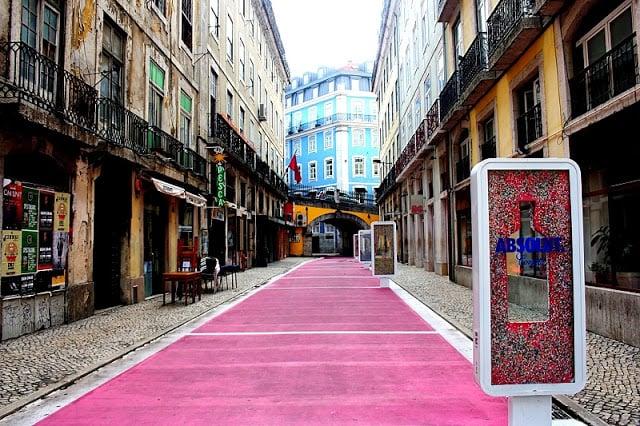 Barrio Cais do Sodré en Lisboa