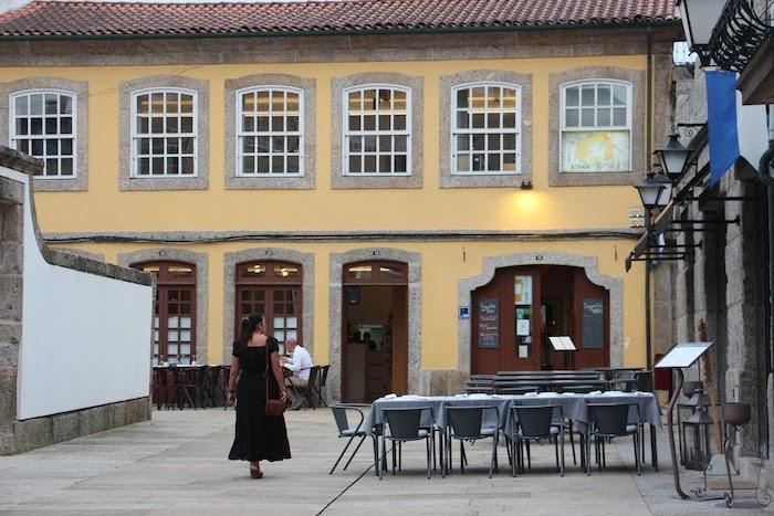 Restaurante Casa Amarela en Guimarães