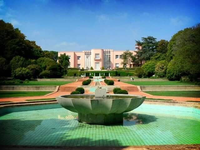 Jardín y Casa de Serralves en Oporto