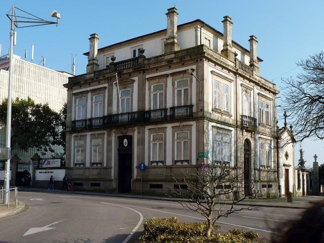 Fachada del Museo Militar de Oporto