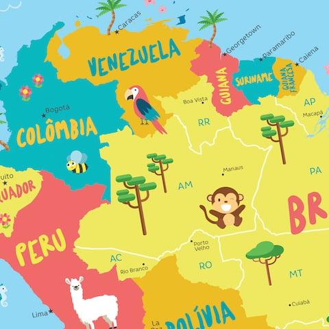 Países de América del Sur