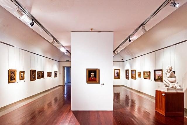 Interior del Museo Soares dos Reis en Oporto