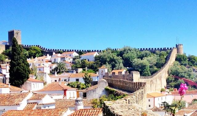 Vila de Óbidos en Portugal