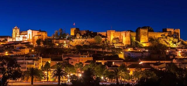 Castillo de Silves en Algarve
