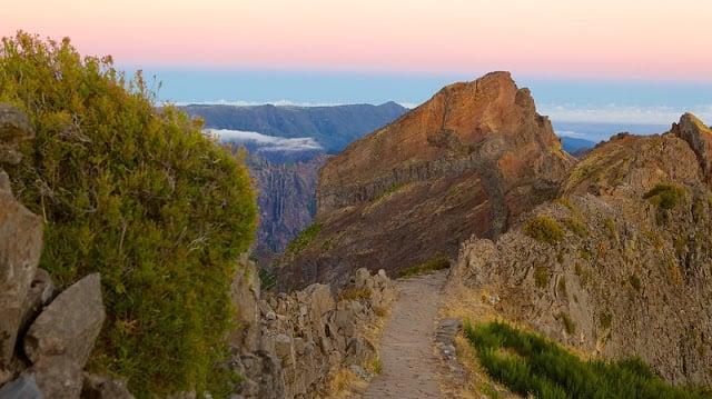 Pico do Areeiro en la Isla de Madeira
