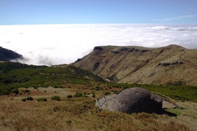 Poço da Neve (Pozo de Nieve) en Pico do Areeiro