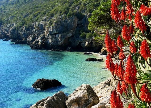Parque Natural de la Arrábida en Portugal