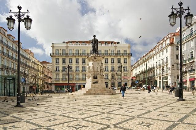 Plaza Luís de Camões - Barrio Chiado