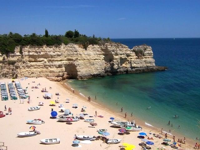 Ciudad de Silves en Algarve