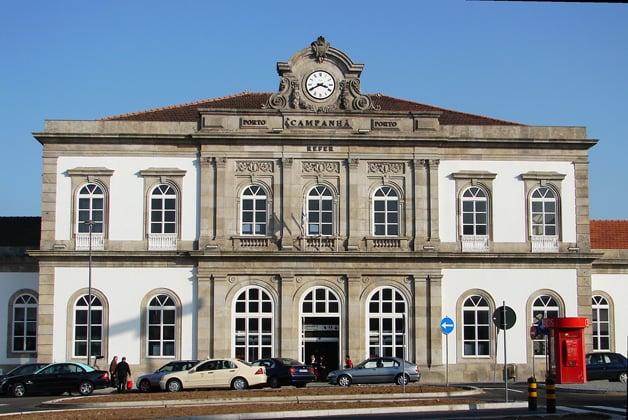 Viajes en tren en Oporto y en Portugal